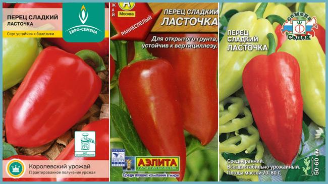 Перец ласточка: описание сорта и характеристика, агротехника, видео и фото