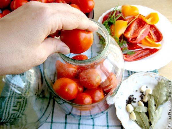 Сколько может стоять открытая банка маринованных помидоров