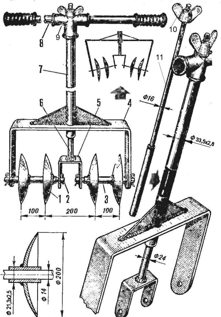 Способы и инструменты прополки картофеля