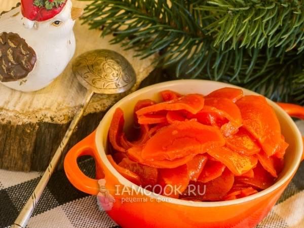Варенье из моркови с лимоном - рецепт на зиму