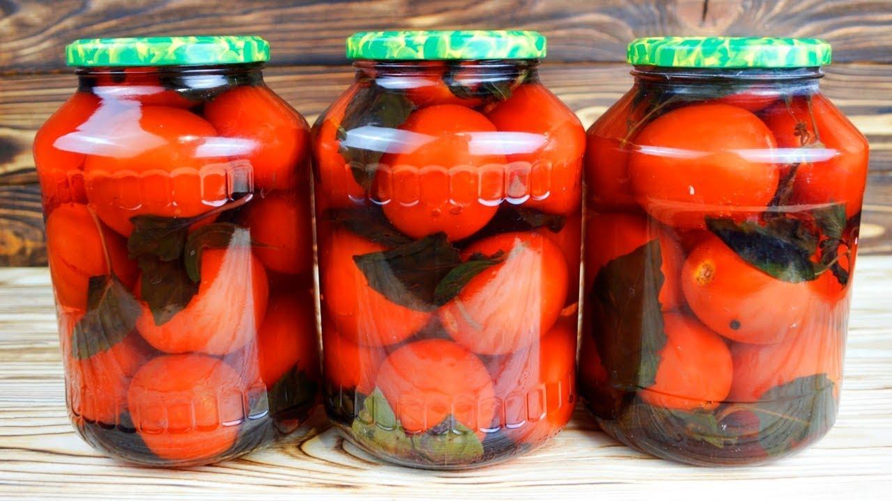 Маринованные помидоры на зиму: рецепт с фото пошагово