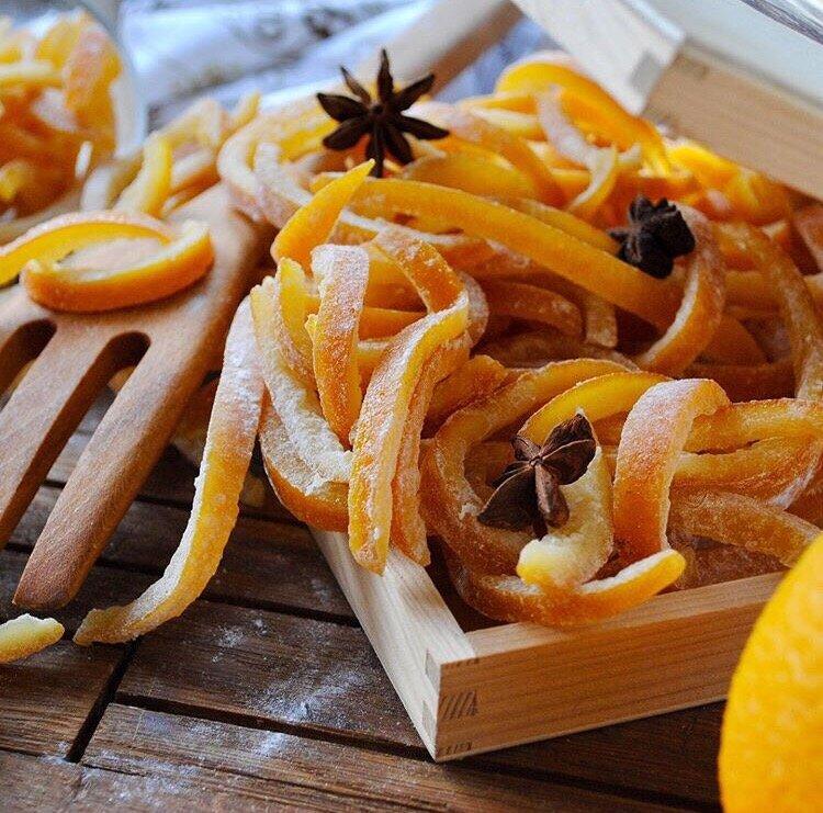 Цукаты из апельсиновых корок: как приготовить в домашних условиях