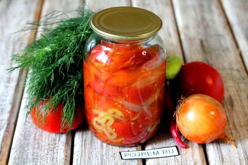 ТОП 19 пошаговых рецептов приготовления помидоров на зиму