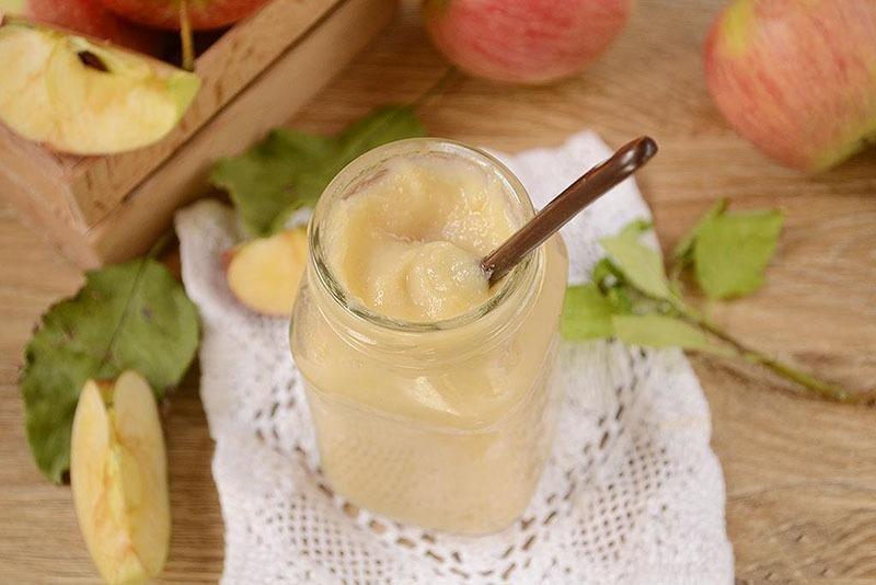 Яблочное пюре на зиму в домашних условиях - как приготовить: рецепт с фото
