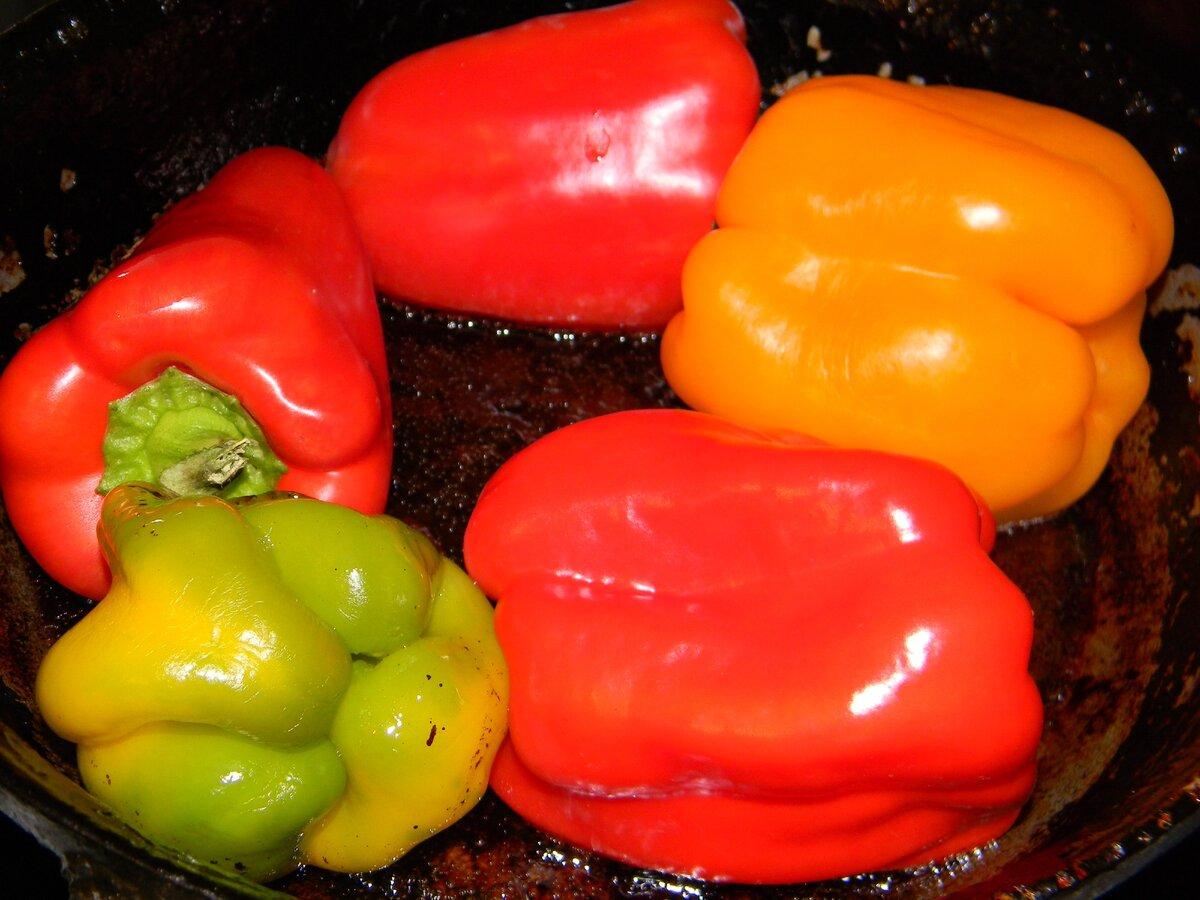Жаренный перец, консервированный на зиму целиком — 5 лучших рецептов