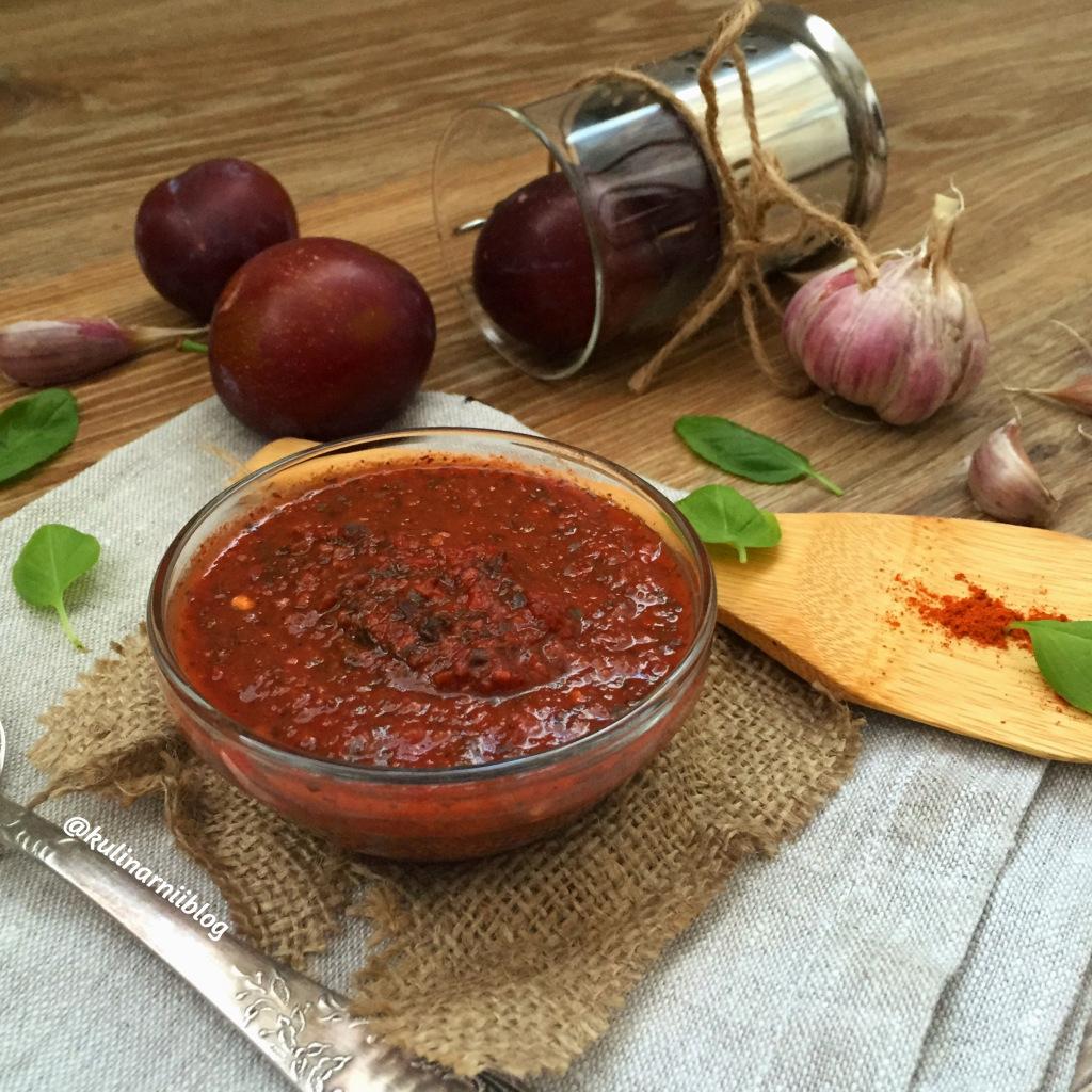 Ткемали из сливы - рецепт классический на зиму пошагово с фото