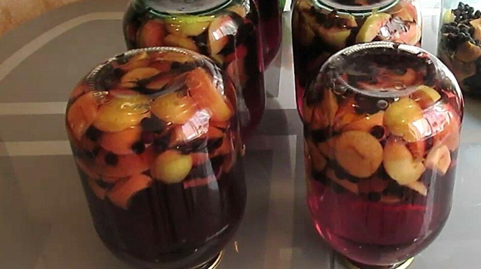 7 простых, но очень вкусных и полезных компотов с черноплодной рябиной на зиму: делаем витаминные закатки!