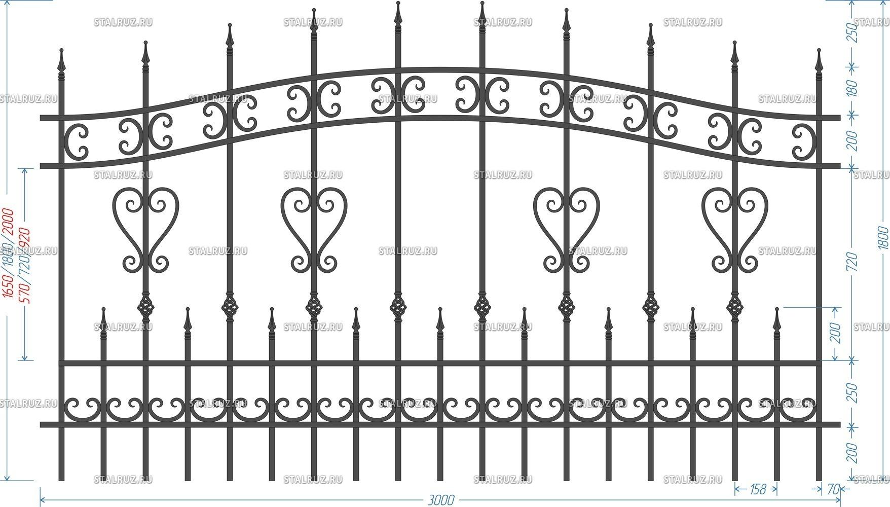 Металлический забор: виды, плюсы и минусы, установка