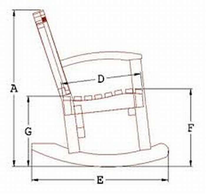 Мастерим кресло-качалку своими руками из фанеры
