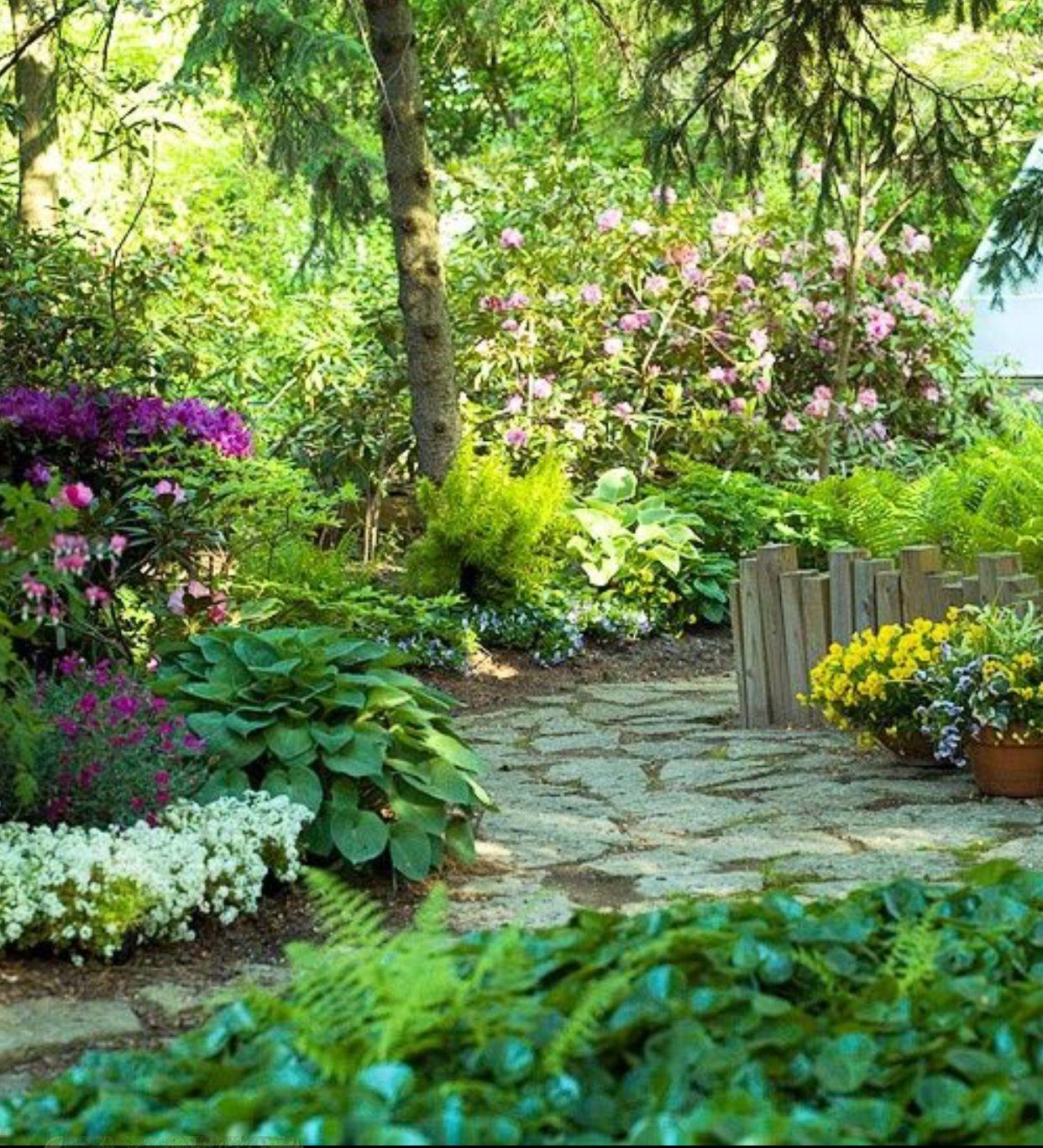 Как оформить сад в природном стиле: ландшафтный дизайн, выбор растений и их посадка