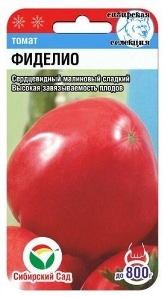 Описание крупноплодного томата Фиделио и выращивание сорта рассадным методом