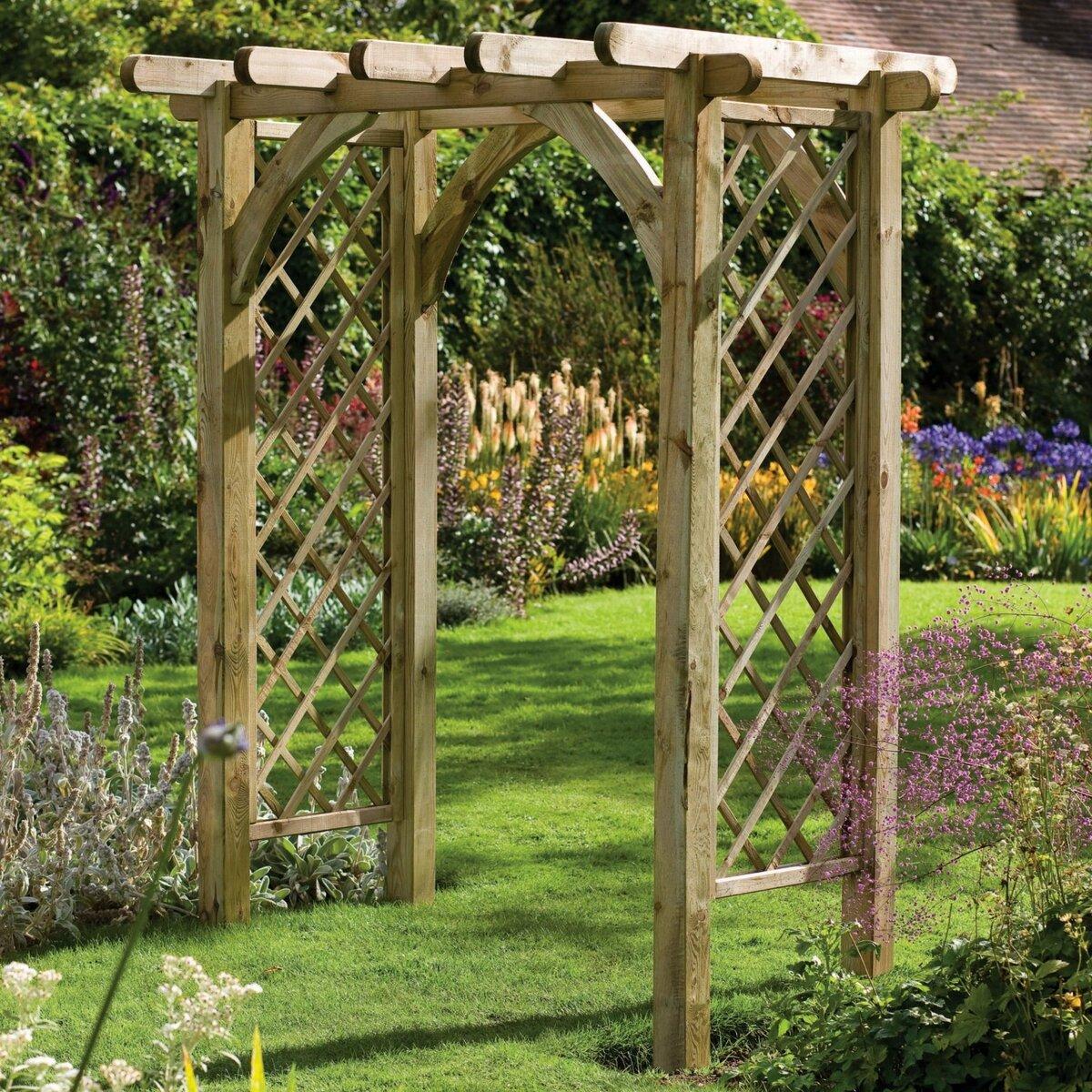 Арки для сада своими руками: виды и подробная инструкция монтажа