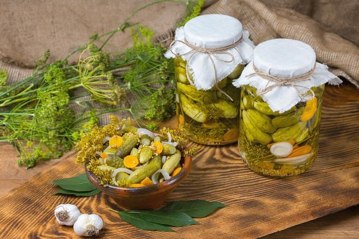 Огурцы маринованные по-болгарски — вкусный рецепт на зиму