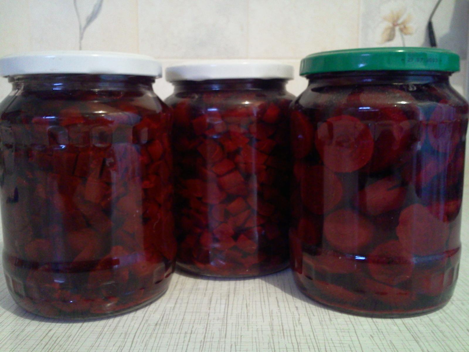 Заготовки из свеклы на зиму без стерилизации: рецепты маринования