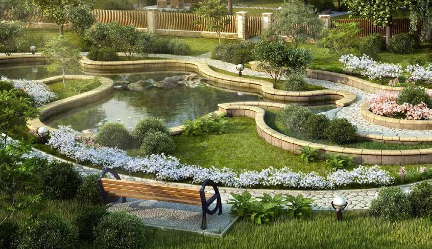Преобразования рельефа сада и прочей территории дачного участка
