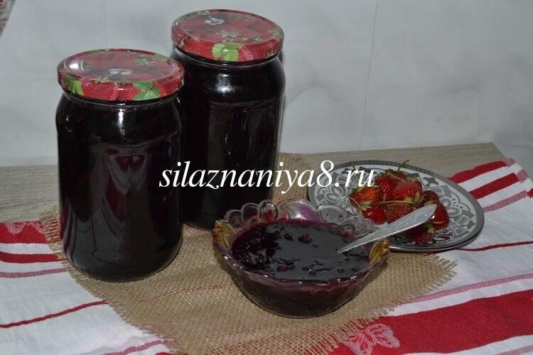 Варенья и джемы из черной смородины – 9 классических рецептов