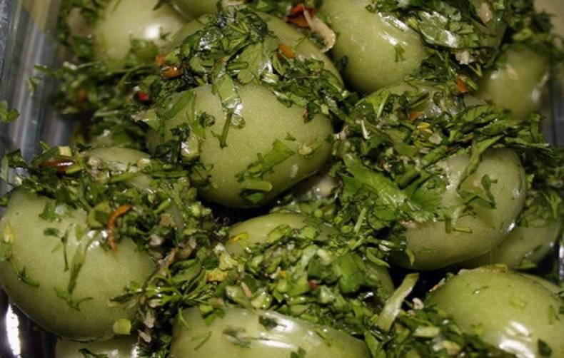 Быстрые и вкусные рецепты приготовления маринованных помидоров по-грузински на зиму. самые вкусные рецепты помидоров по-грузински на зиму быстрого приготовления