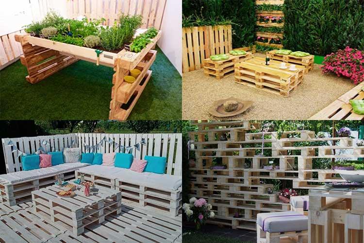 Для участка и дачного дома используем ненужные поддоны - огород, сад, балкон - медиаплатформа миртесен