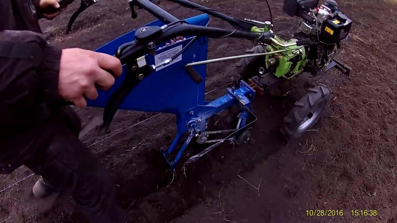 Как сделать приспособление для посадки чеснока
