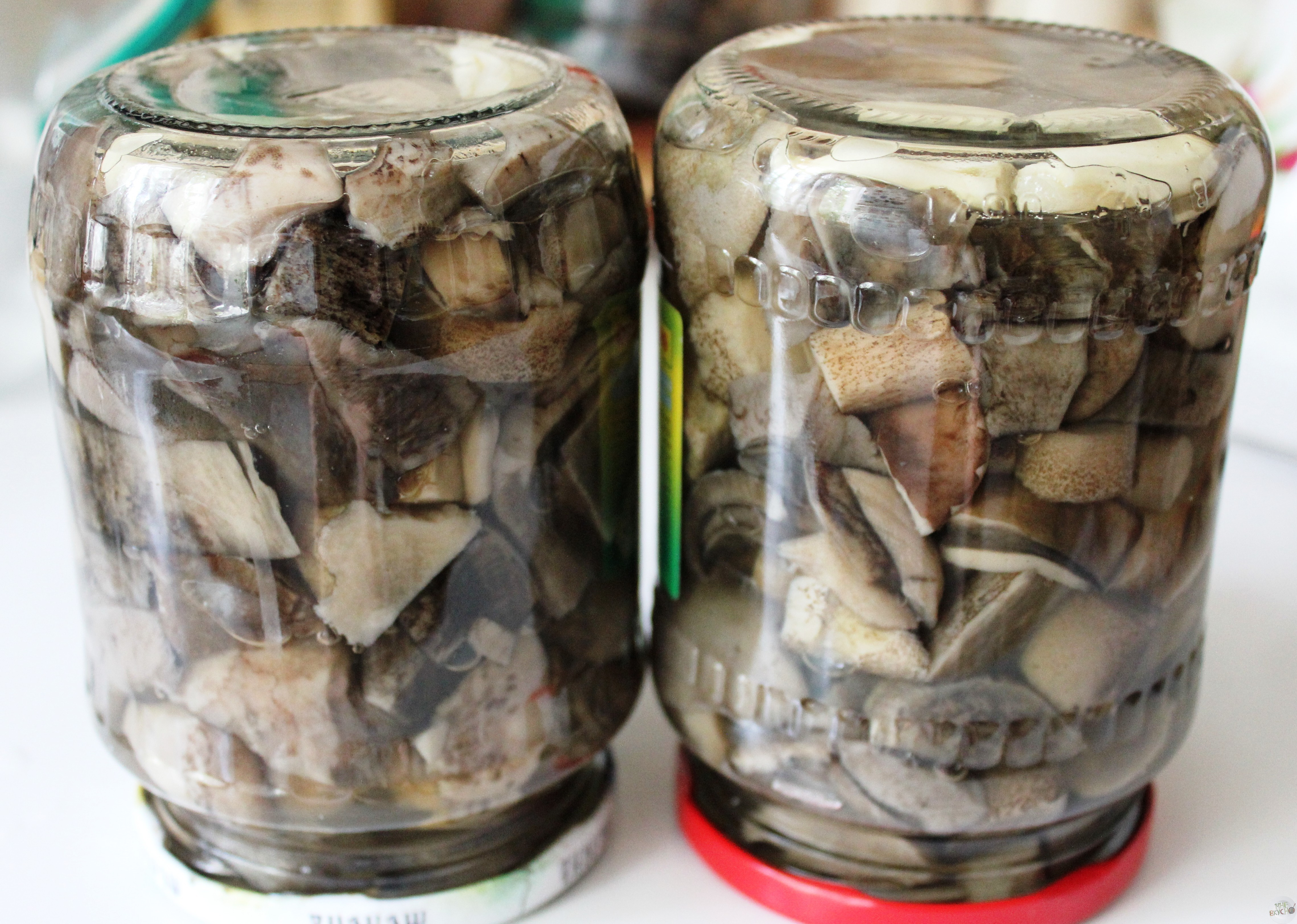 Грибы подосиновики, маринованные на зиму в банках: фото, рецепты приготовления грибных заготовок