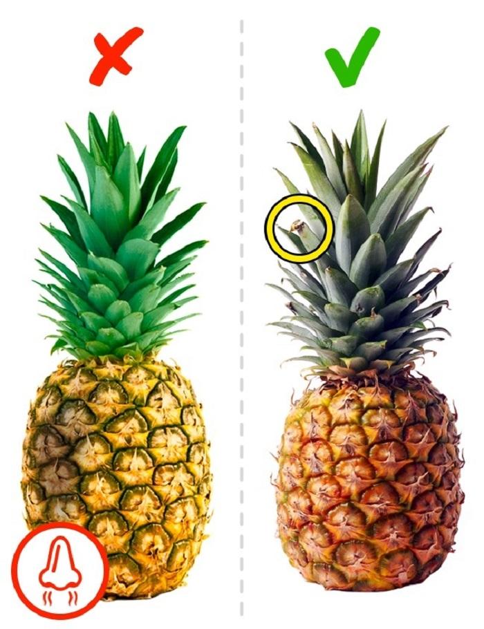 Как выбрать спелый ананас в магазине? — лучшие методы - правильно выбрать - все начинается с выбора.