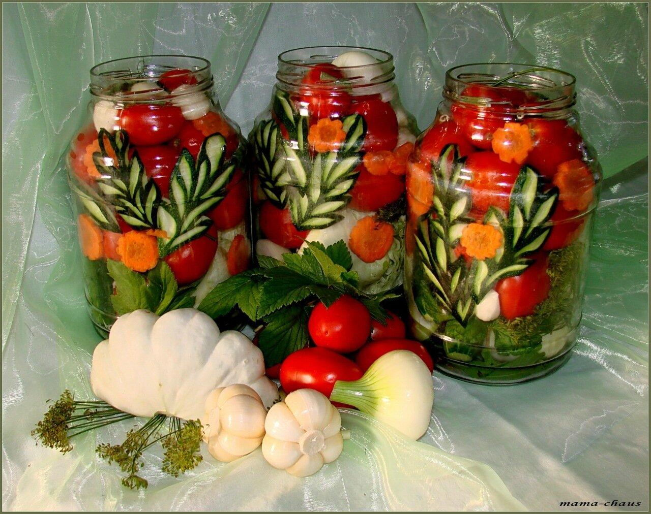 Азербайджанские соленья на зиму - рецепты еды
