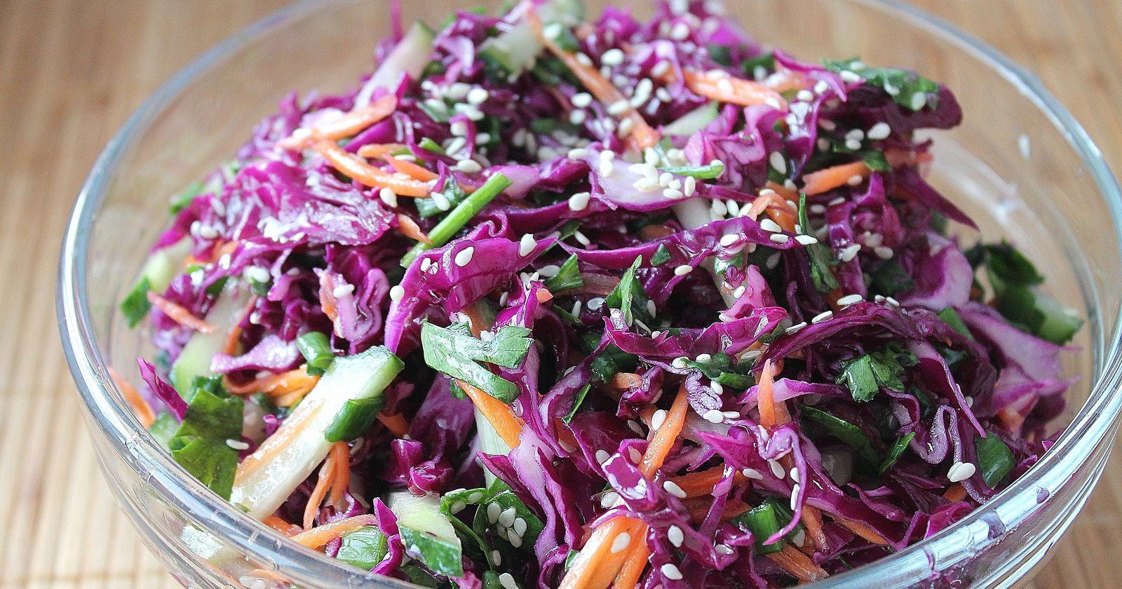 Вкусные рецепты быстрого приготовления маринованной красной капусты