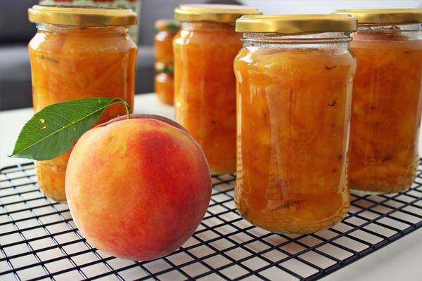 Персики на зиму, рецепты с фото