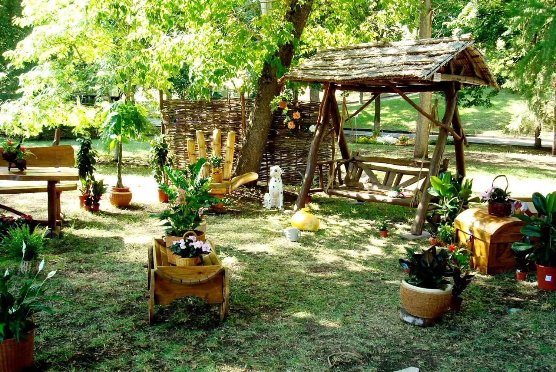 Деревенский стиль (стиль кантри) в ландшафтном дизайне сада