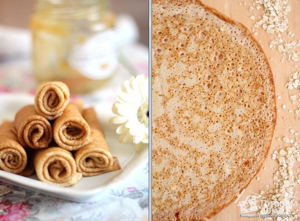 Овсяноблин: лучшие рецепты и варианты начинок для правильного питания