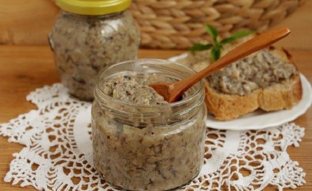 Грибная икра: рецепты из свежих, отварных и соленых грибов на зиму