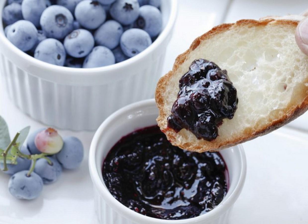 Варенье из голубики на зиму: рецепты джема-пятиминутки, что можно приготовить