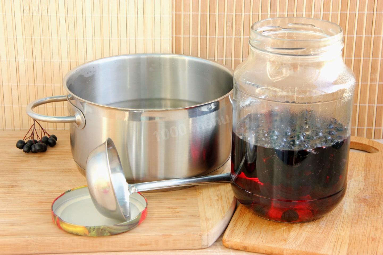 Витаминный компот из черноплодной рябины на зиму: простые рецепты приготовления компота из черноплодки