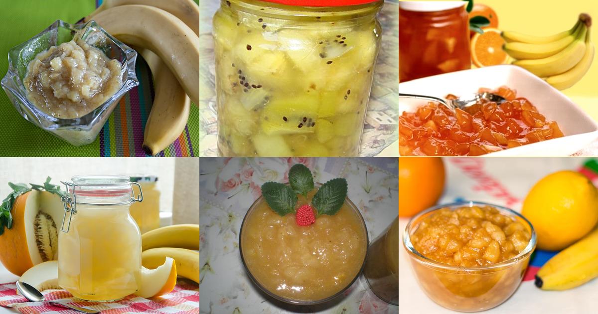 Банановый джем: ингредиенты, пошаговый рецепт с фото, нюансы и секреты приготовления