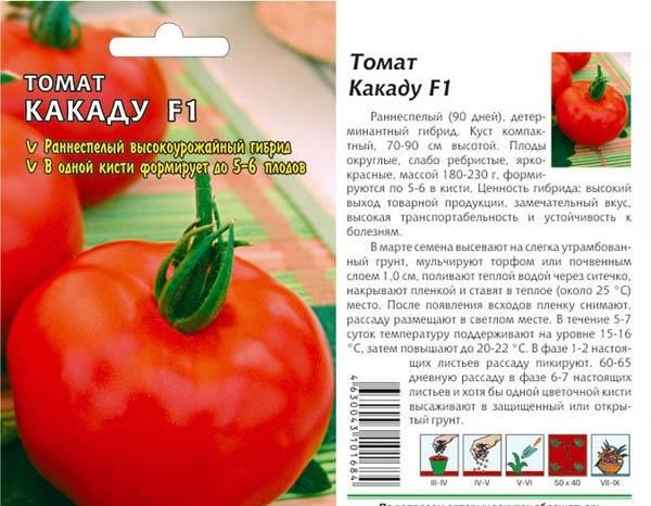 Описание и краткая характеристика томата Какаду, выращивание сорта
