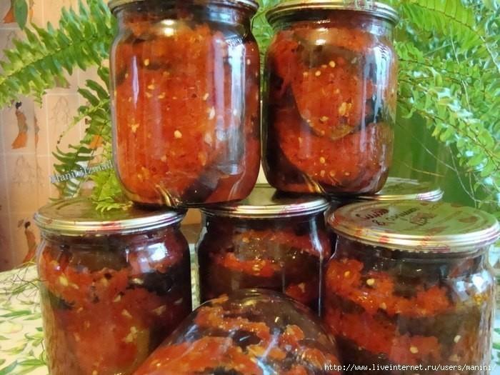 Рецепты приготовления маринованных баклажанов по-азербайджански на зиму - всё про сады
