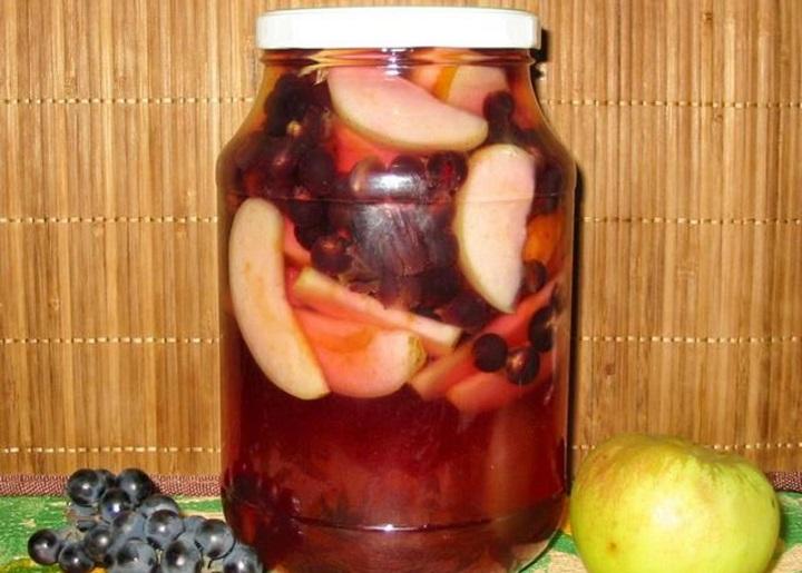 Рецепты компота из винограда на зиму: советы хозяйкам, рецептурные тонкости