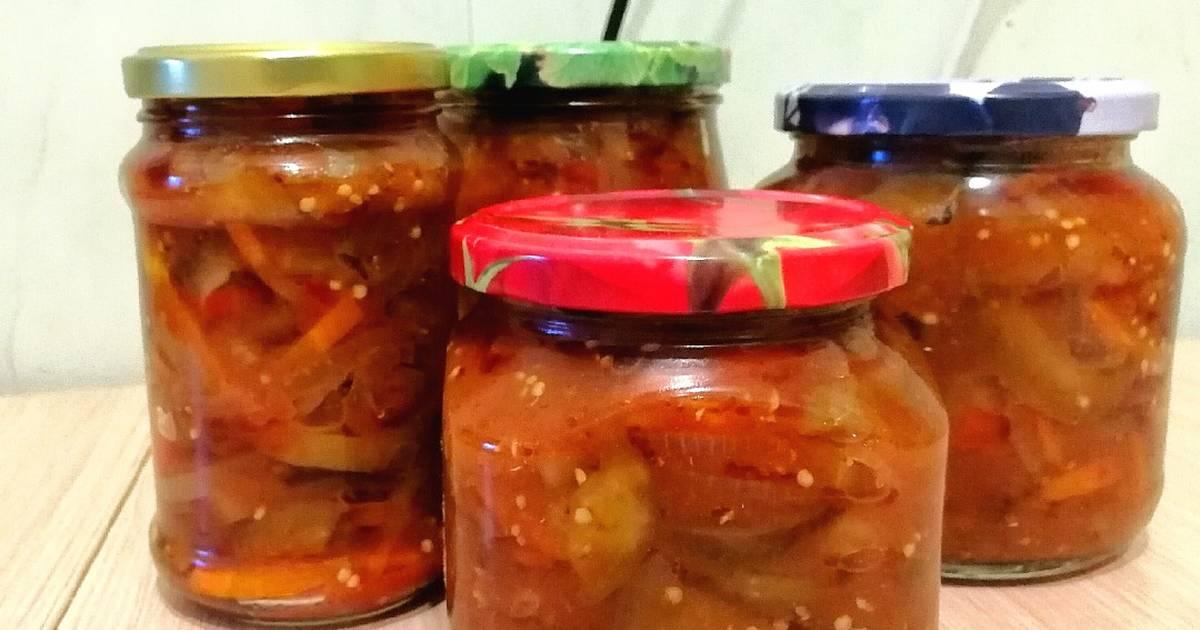 Салат на зиму десятка - это отличная заготовка на длинную и холодную зиму: рецепт с фото и видео