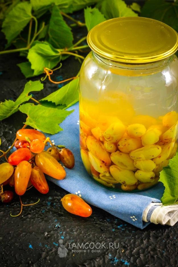Виноградный компот — 5 фото рецептов вкуснейшего компота из винограда за зиму