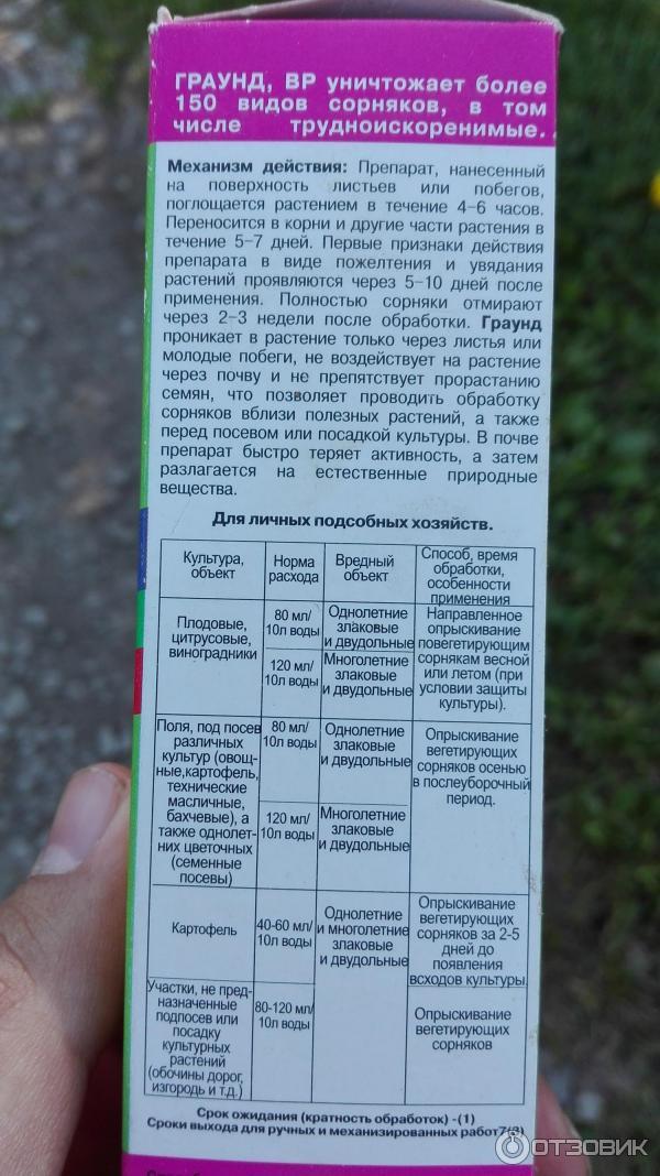 Инструкция по применению гербицида агрокиллер от огородных сорняков