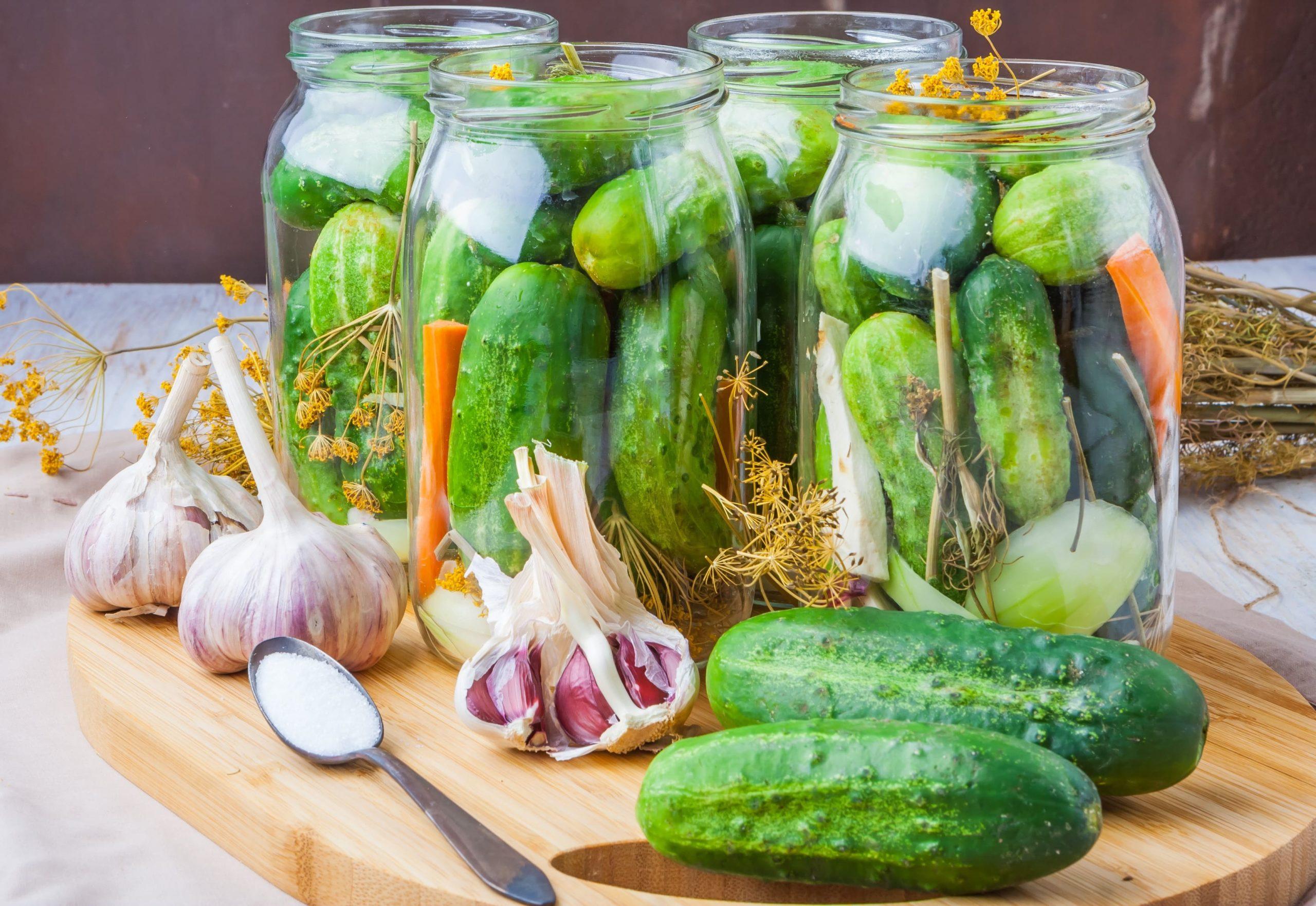 20 простых пошаговых рецептов засолки огурцов на зиму