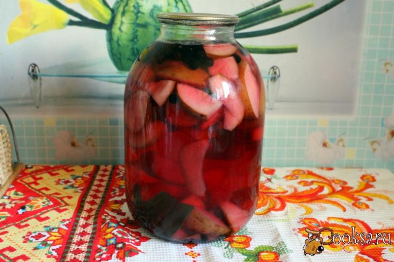Самый полезный компот из черноплодной рябины – классический рецепт, варианты с малиной, сливой, яблоками