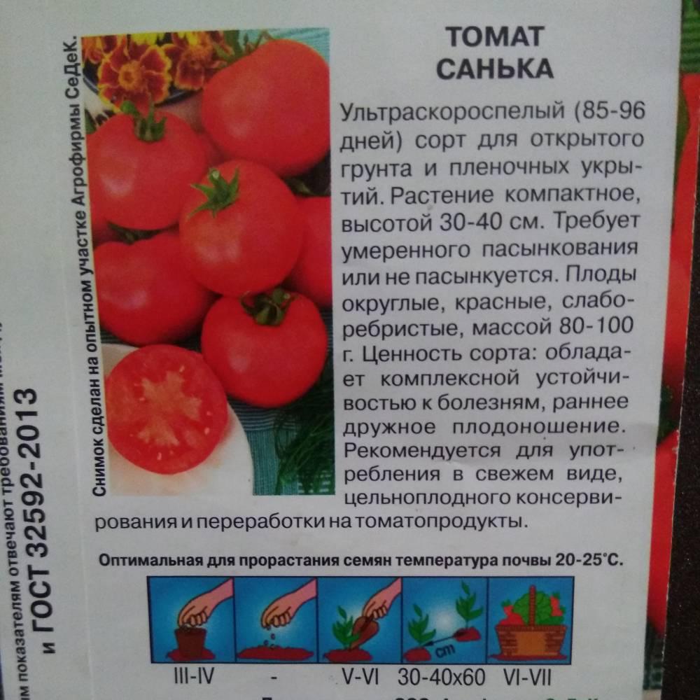 Томат санька: отзывы, описание и характеристика сорта, урожайность, фото и отзывы