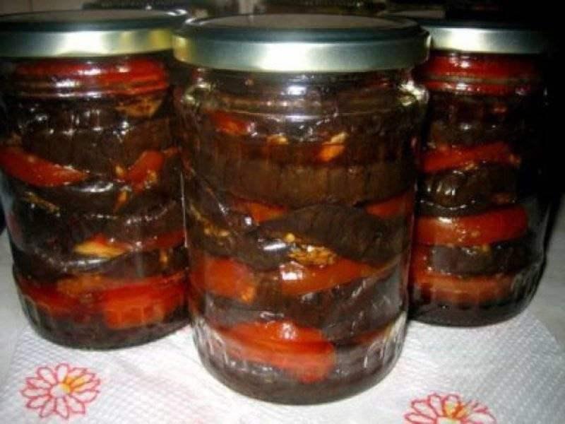 Печеные баклажаны на зиму: лучшие рецепты приготовления