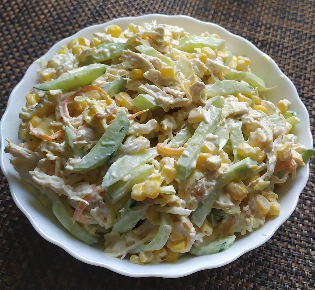 Салаты с блинами — простые и вкусные рецепты