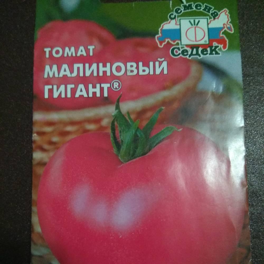 """Томат """"малиновый гигант"""": описание сорта, фото плодов-помидоров, рекомендации по выращиванию и уходу русский фермер"""