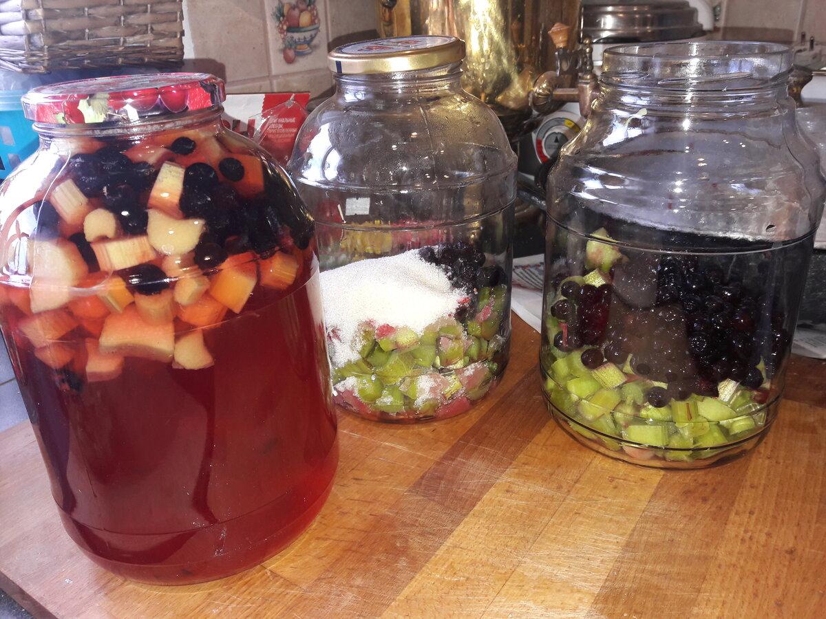 Компот ассорти из фруктов и ягод на зиму