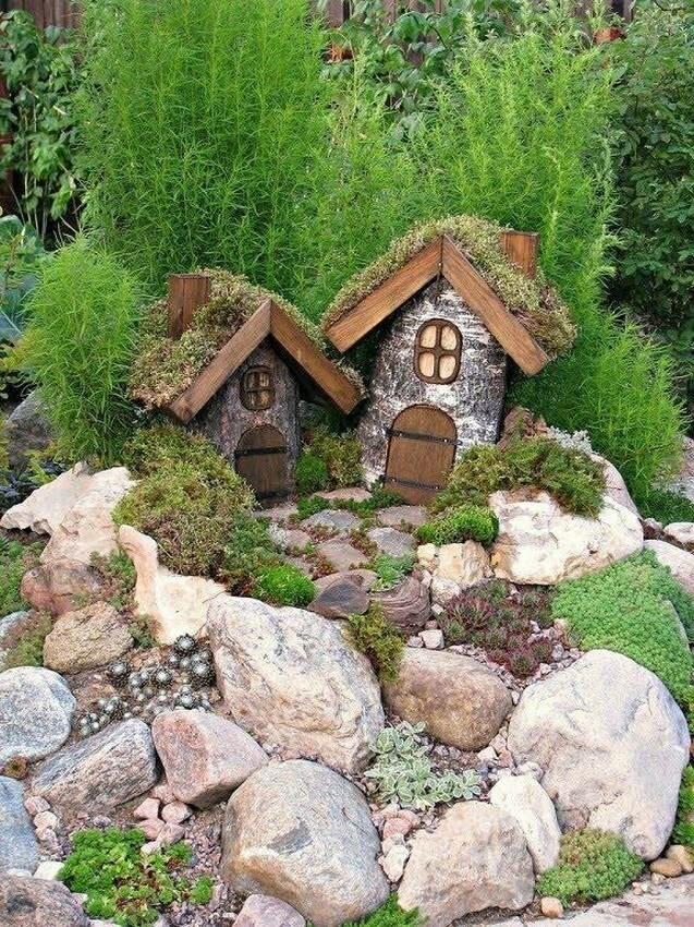 Декоративные украшения для сада и огорода своими руками: дизайн-идеи