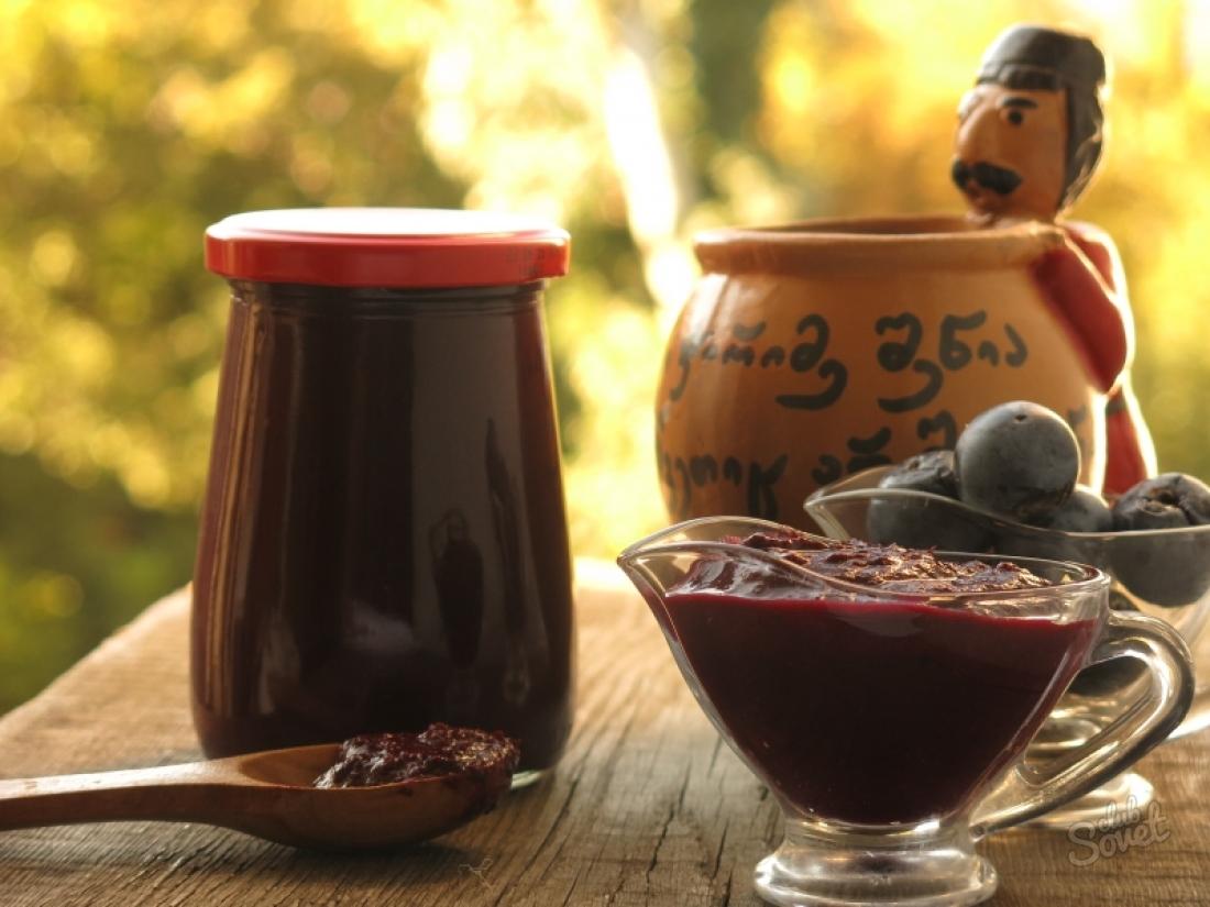 Ткемали из сливы - классические рецепты полезного соуса