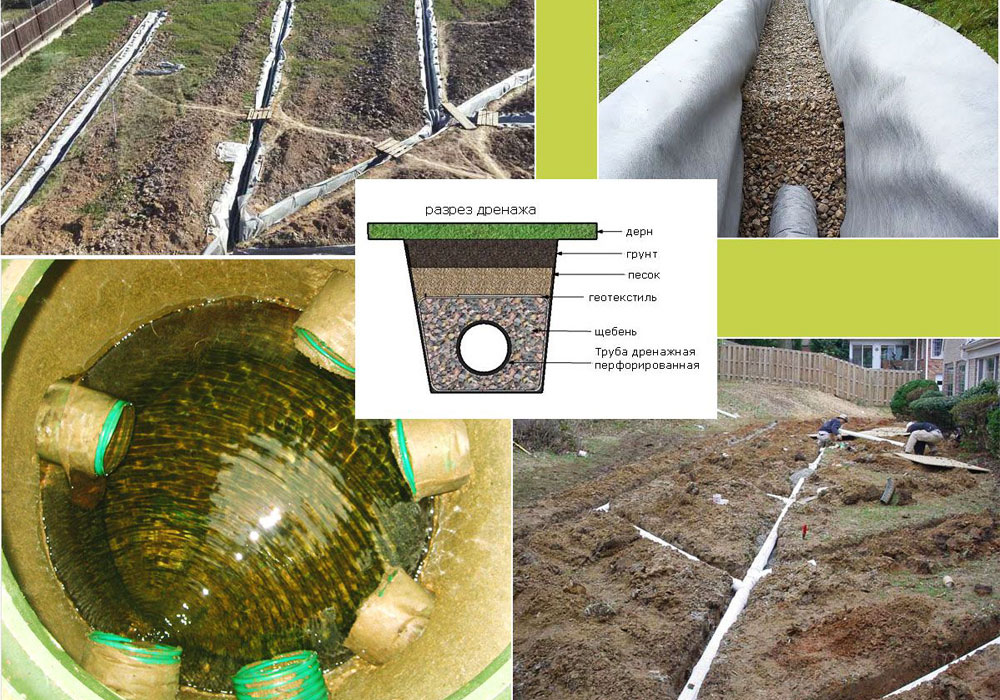 Способы борьбы с грунтовыми водами на участке ⋆ «премьер агро» — агропромышленный журнал